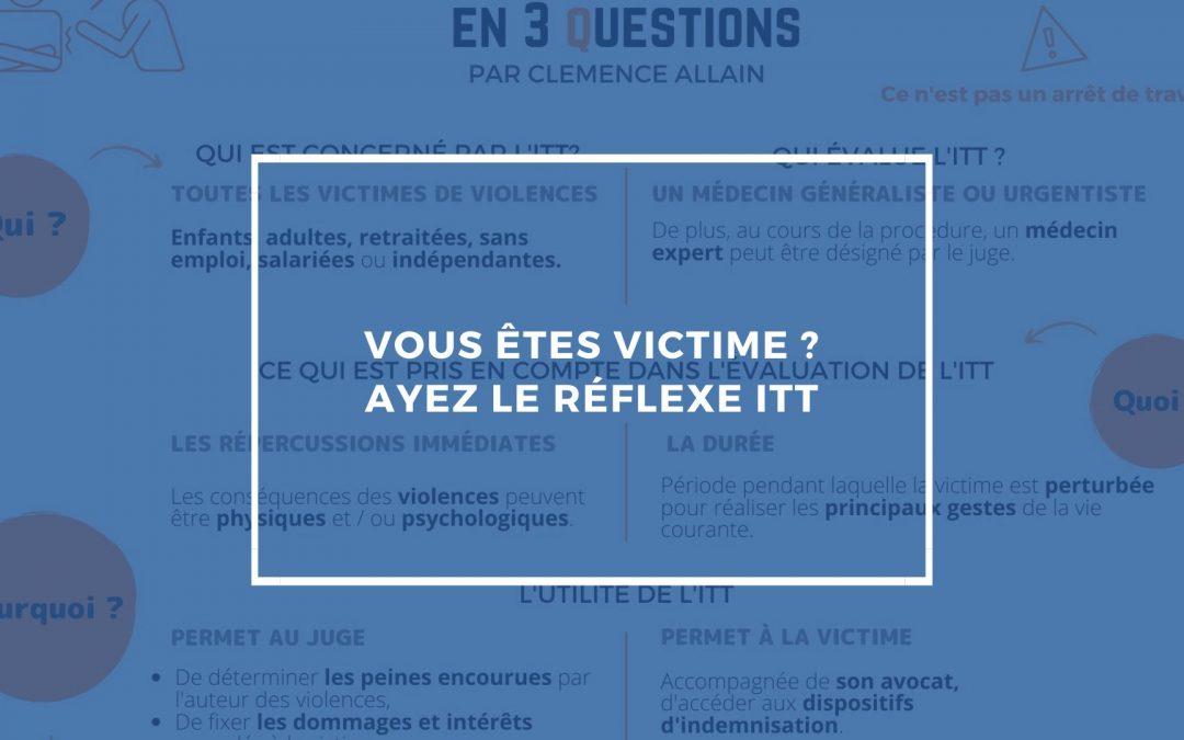 Victime de violence ? Ayez le bon réflexe
